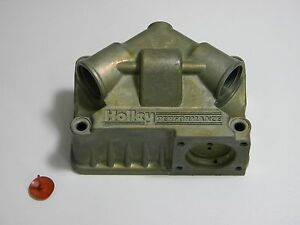 Holley Qft Aed 134 104 Secondary Float Bowl Fits 4150 600 1250 Cfm Double Pumper