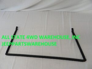Jeep Parts Tailgate Weatherstrip Seal 1997 2006 Wrangler Tj Lower Body Brand New