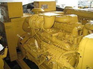 Used Caterpillar 3306 Standby Power Module Gen Set Generator 1988 Only 690 Hrs