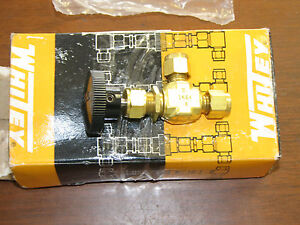 Swagelok Whitey B 1ks4 1 4 2 way Brass Valve