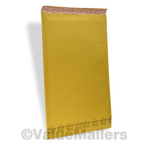 7 100 14 25x20 Kraft Ecolite Bubble Padded Envelopes Mailers 14 25 X 20