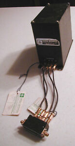 General Microwave M189 2 18 Ghz Pin Diode Attn W Driver Block 325 6 1 Nos