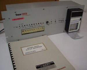 Tracor 900a 100hz 75 6khz Vlf lf Ferequency Reference Receiver