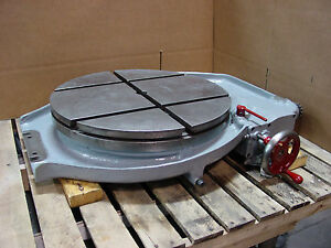 Kearney Trecker Kt 23 Rotary Table Turntable Rebuilt