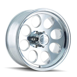 Cpp Ion Alloys Style 171 Wheels Rims 15x10 6x5 5 Polished Aluminum