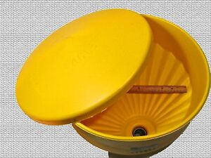 Waste Oil Heater Part Heavy duty Tank Top Funnel With Lid And Screen Large Dia