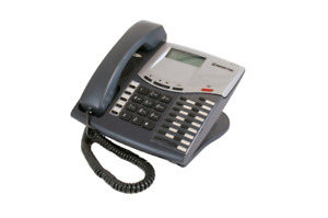 Lot Of 25 Fully Refurbished Intertel Axxess 550 8520 Display Phone charcoal