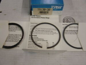 350 Chevy 302 Ford Plasma Ceramic Piston Rings 30 Over