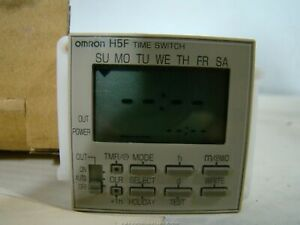Omron H5f Digital Time Switch Control H5f b
