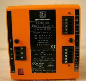 Ifm Electronic Ac Power Supply 1209