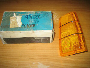 Nos Gm 1980 Chevrolet Caprice Marker Light Lamp Lens