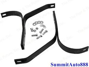 1947 48 49 50 51 52 53 54 55 Chevy Pickup Truck Rear Bumper Bracket Set Hardware