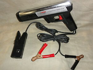 Dc Inductive Timing Light Model 244 2128 By Sears Penske