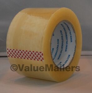 Tape 3 X 330 2 5 Mil 12 Rolls Quality Packaging Box Carton Sealing 3x110 Yds