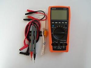 New Vc97 Auto Range Multimeter Ac Dc Current Buzz R C Usa Seller