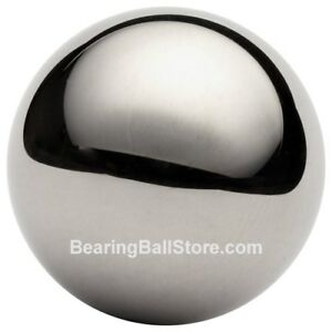 Two 2 3 4 Chrome Steel Bearing Balls