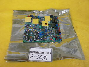 Rudolph Technologies 20702a Lock in Amplifier Pcb Working