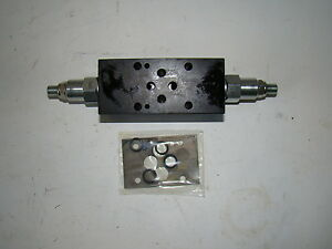 Continental Hydraulics Compensated Flow Control Valve F03msv cdc aa c