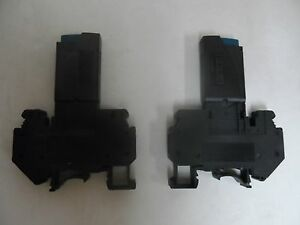 Lot Of 2 Phoenix Contact Tcp 2 0a Resettable Fuse Ac250v Dc65v With Base