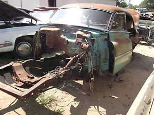 1951 51 Oldsmobile Olds 98 Complete Bare Frame Rails Rat Hot Rod Custom Oem Cool