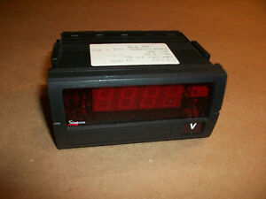 Simpson Digital Panel Meter F 353 13 0 9 32vdc