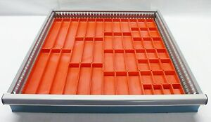 49 Plastic Boxes Drawer Accessory Fit Lista Perf 1 deep