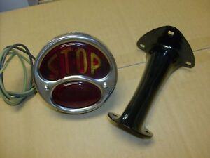 Model A Tail Light And Bracket Stop Lens
