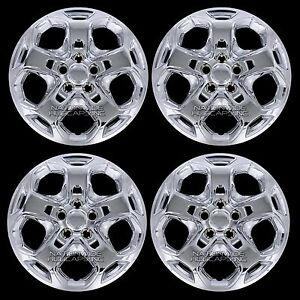 4 New 2010 11 2012 Ford Fusion 17 Chrome Wheel Covers Full Rim Hub Caps 5 Spoke