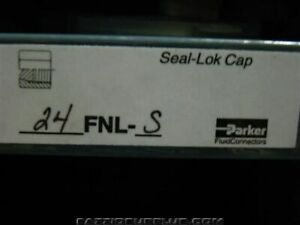 5 parker Hydraulic Fitting Seal lok Cap 24 Fnl s