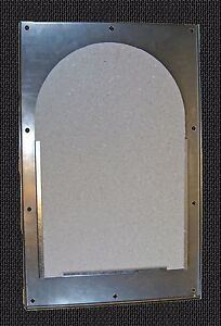 Waste Oil Heater Parts Reznor Chamber Access Door W Insulation Board 126014
