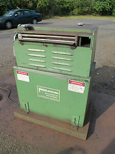 Gauer 20 Sheetmetal Safety Edger For Use With Metal Shear Stock