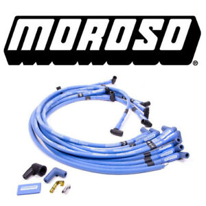 Moroso 72416 Blue Max Spark Plug Wires Big Block Chevy Hei Under Header 90 Bbc