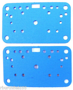 Genuine Holley 108 90 2 Two Carburetor Metering Plate Gaskets Non Stick 4160