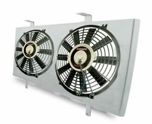 Mishimoto Performance Aluminum Fan Shroud 12 Fans 1979 1993 Ford Mustang 5 0l