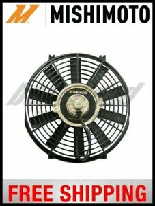 Mishimoto Performance Single Black 14 Slim Electric Radiator Cooling Fan