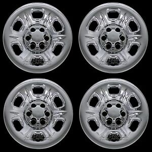 4 Fits Nissan Frontier 05 2019 Chrome 15 Wheel Skins Hub Caps Covers Simulators