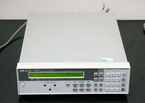 Hp E4916a Crystal Impedance lcr Meter