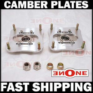 Pillowball Camber Kit Plates 86 91 Mazda Rx7 Fc3s Turbo Non Turbo