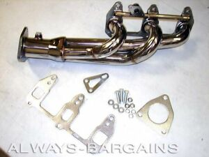 Manzo Stainless Steel Exhaust Header Fits Mazda Rx 8 Rx8 04 05 06 07 08 Tp 199