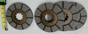 4 International Harvester Farmall Brake Disc H Super H Super W 4 300 350