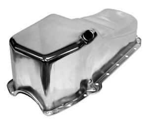 58 79 Sbc Chevy Chrome Oil Pan Stock Capacity 283 305 327 350 400 Small Block