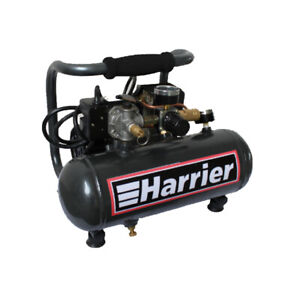 Harrier Hc1001 1 2 hp 1 Gallon Portable Oil free Air Compressor