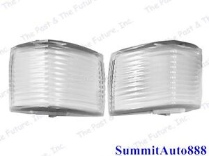 1968 Chevy Impala Front Fender Parking Light Lamp Lens Pair Right