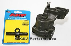 Melling M55hv Sbc Chevy Oil Pump High Vol Arp 230 7003 Hp Oil Pump Stud 327 350