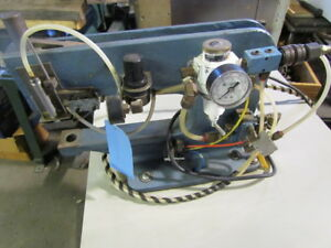 Cambridge Automatic Ae100 Pneumatic Bench Staking Press Y 946