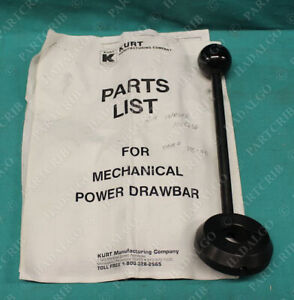 Kurt Manufacturing Mechanical Power Drawbar Handle Knob 705 00