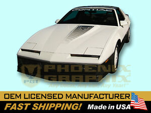 1983 Trans Am Decals Graphics Hood Bird Stripes Kit 19 Pcs Complete