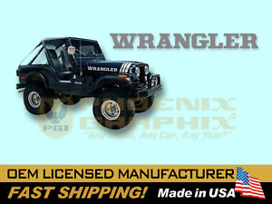 1988 1989 1990 1991 1992 1993 1994 1995 Jeep Wrangler Name Decal Stripes Graphic