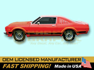 1976 1977 Plymouth Volare Road Runner Decals Stripes Kit