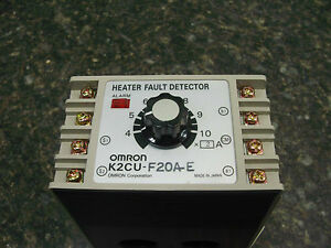 Omron K2cu f2oa e Heater Fault Detector Is Repaired With A 30 Day Warranty